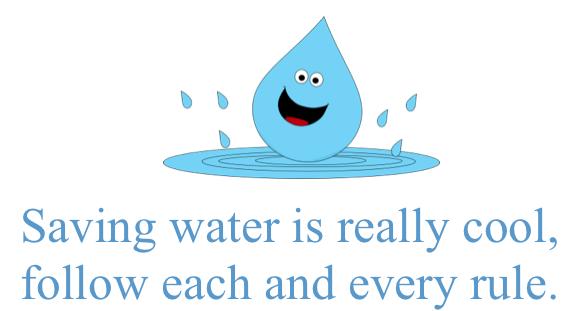 savingwaterslogan